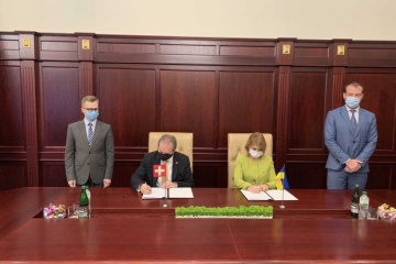 Ukraine, Switzerland sign memorandum on production of medical ventilators