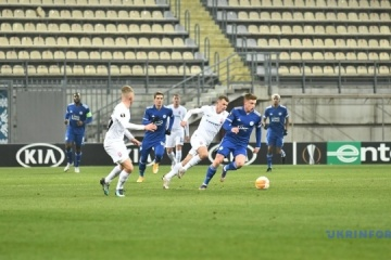 El Zorya derrota al Leicester en la Europa League