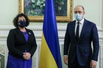 Szmyhal zaprosił na Ukrainę delegację brytyjskiego biznesu