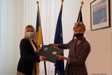 Deutschland hilft dem ukrainischen Geschäft, globale Märkte zu erschließen