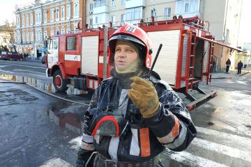 Poltava : un bâtiment historique ravagé par les flammes
