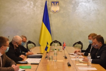 Britain interested in cooperation with Ukraine in sphere of modern technologies
