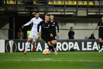 Sorja Luhansk verliert letztes Spiel in der Europa League gegen Braga