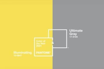 Ultimate Gray et Illuminating : voici les deux couleurs de l'année 2021 selon Pantone
