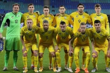 Ucrania termina el año en el puesto 24 en el ranking de la FIFA