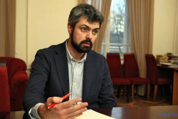 Anton Drobowycz, szef Ukraińskiego Instytutu Pamięci Narodowej