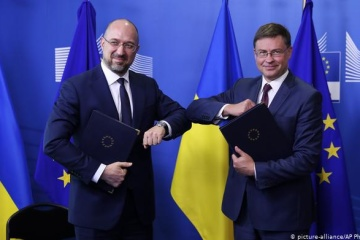 Dombrovskis : L'UE prête à entamer l'examen de la libéralisation du commerce avec l'Ukraine