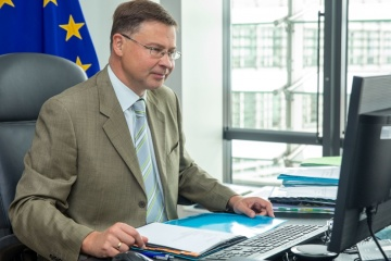 EU ready to start review of trade liberalization for goods with Ukraine - Dombrovskis