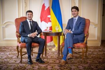 Präsident Selenskyj begrüßt Abkommen mit Kanada über Fernseh- und Filmproduktion