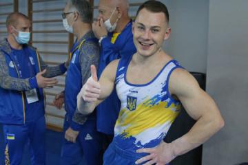El gimnasta ucraniano Radivilov se proclama campeón de Europa en salto de caballo