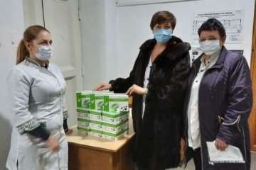Verkhovna Rada transfers medical aid received from UAE to hospitals in six regions
