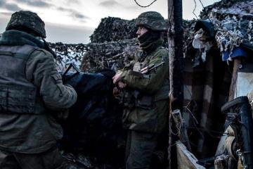 Ostukraine: 11 Angriffe der Besatzer in 24 Stunden