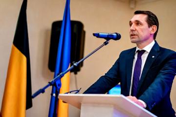 Mykola Tochytskyi, representante de Ucrania ante la UE
