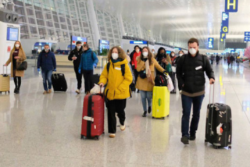 Ukraine not to ban travel from UK