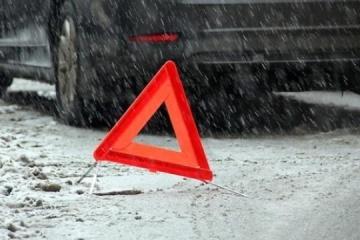 Unwetter in der Ukraine: Seit Beginn des Tages fast 600 Verkehrsunfälle
