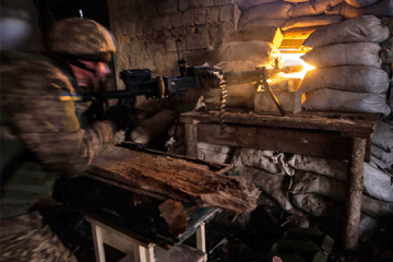 Ten enemy attacks launched in Donbas, one Ukrainian soldier killed