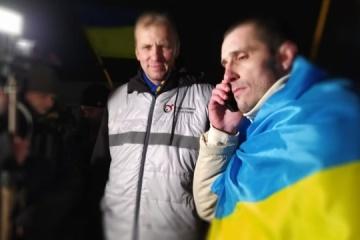 Preso político Shumkov regresa a Ucrania tras tres años en Rusia