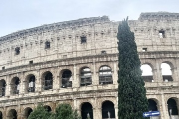 Ukrainian language audio guide launched in Colosseum