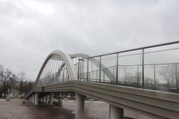 W okupowanym Krymie pękła 55-metrowa kopia mostu Kerczeńskiego