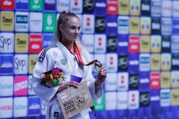 Daria Bilodid, la mejor judoca del mundo de 2019 y 2020