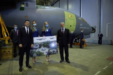 Ukraine orders three An-178 planes for army for first time - Zelensky
