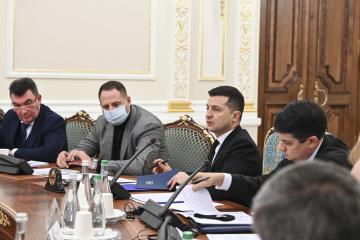 Aktuelle Fragen der staatlichen Sicherheit: Präsident Selenskyj beruft am Freitag Sitzung des nationalen Sicherheitsrates ein