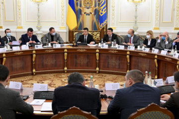 Zelensky enacts two decisions of NSDC