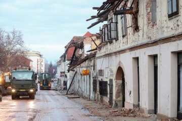 Govt allocates UAH 20M in humanitarian aid to earthquake-affected Croatia
