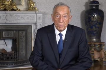 Presidente de Portugal agradece a la colectividad ucraniana en un mensaje con motivo de Año Nuevo