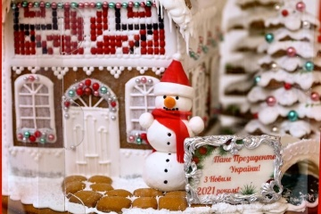"A Zelensky le regalan una ""casa dulce"" de Slovyansk"