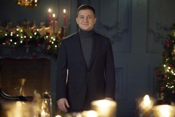 ゼレンシキー大統領、年越しのあいさつ