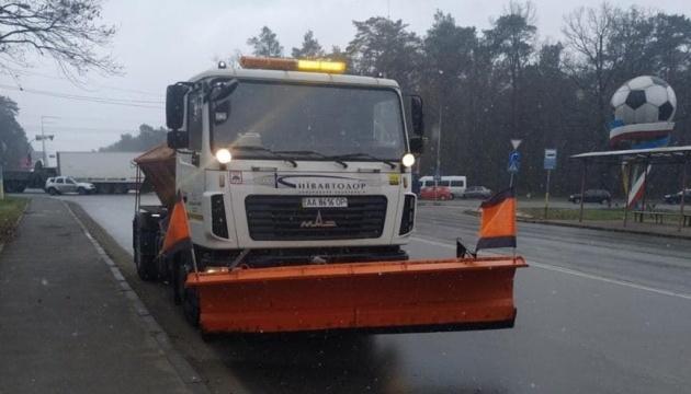 В Киеве спецтехника - «на старте» из-за ухудшения погоды