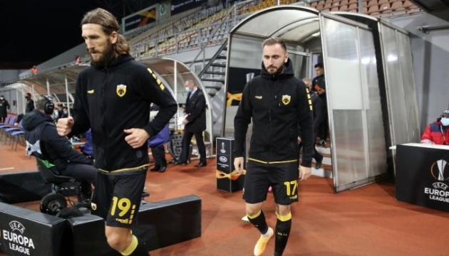 Футбол: Чигринский пропустит матч с «Брагой» из-за травмы плеча