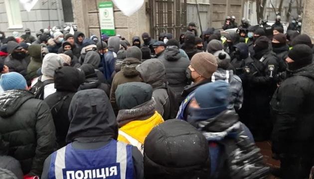 ФЛП не выпускали депутатов из Рады - произошла потасовка с полицией