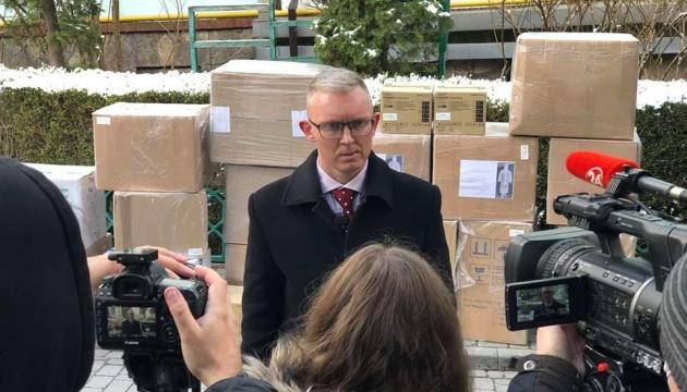 Rotary Club передал оборудование и средства защиты семи больницам на Львовщине