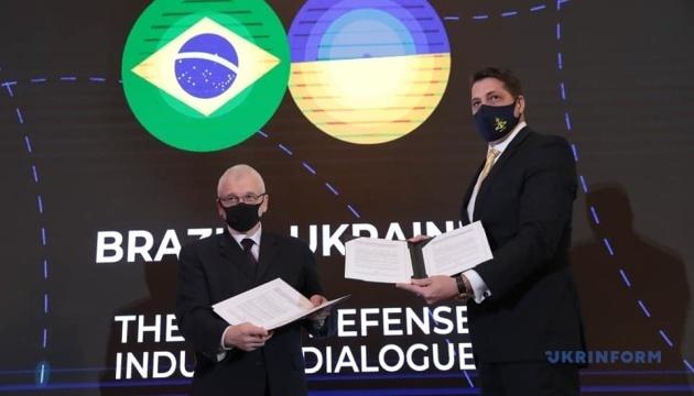 Ukraine, Brazil agree on cooperation in defense industry