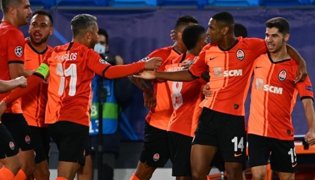 «Шахтар» переміг «Реал» у матчі Ліги чемпіонів УЄФА