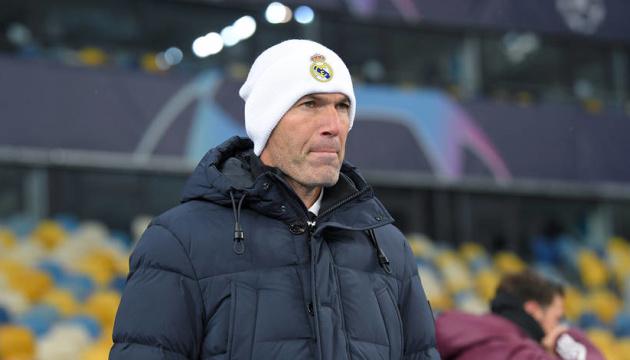 Зідан: «Реал» не заслуговував поразки, але м'яч не йшов у ворота «Шахтаря»