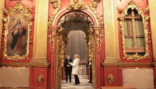アンドリー教会、5年間の改修終了 訪問客受け入れ再開へ