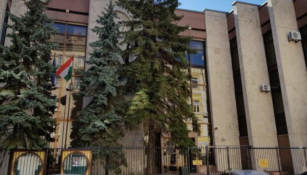Посольство Угорщини заявило, що закарпатські депутати на інавгурації спочатку співали гімн України