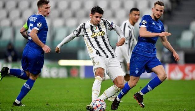 El Dynamo pierde 3-0 ante la Juventus en el partido de la UEFA Champions League