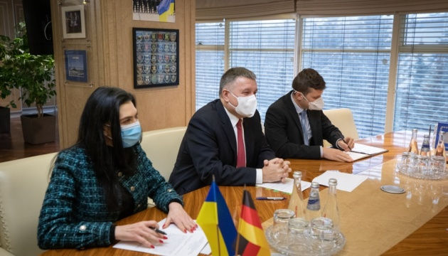 Avakov, German ambassador discuss cooperation between Interior Ministries of two countries