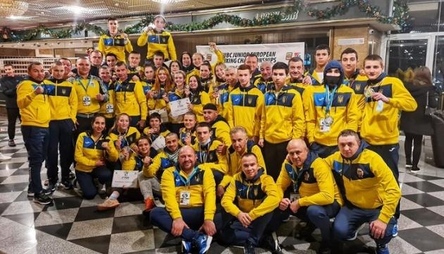 Україна виграла 20 медалей на юніорському ЧЄ з боксу