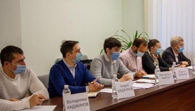 Водоочистка у Маріуполі: фахівці з Франції визначають місце побудови заводу