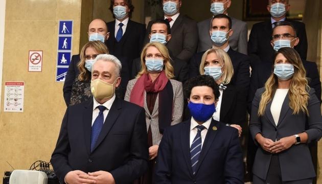 Парламент Чорногорії затвердив новий уряд