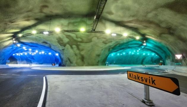 На Фарерах достроили туннель с автомобильной развязкой на дне океана