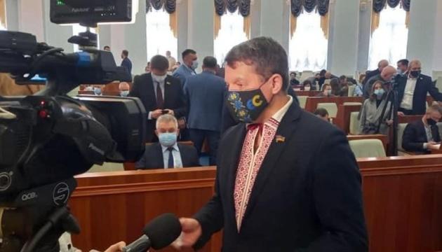 Сущенко стал первым заместителем председателя Черкасского облсовета