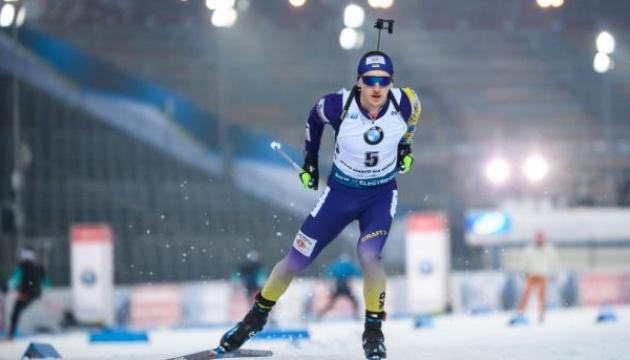 Украинские биатлонисты заняли 10 место в эстафете на финском этапе Кубка мира