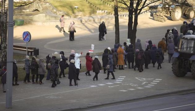 У Мінську пенсіонери і медики вийшли на «Марш мудрості»
