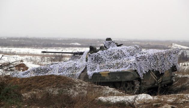 Okupanci w Donbasie 9 razy naruszyli zawieszenie broni